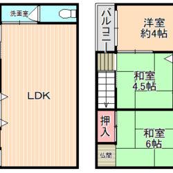 東大阪市中古テラスハウス<二戸一物件>