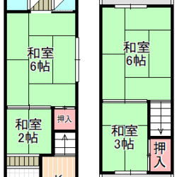 東大阪市中古テラスハウス
