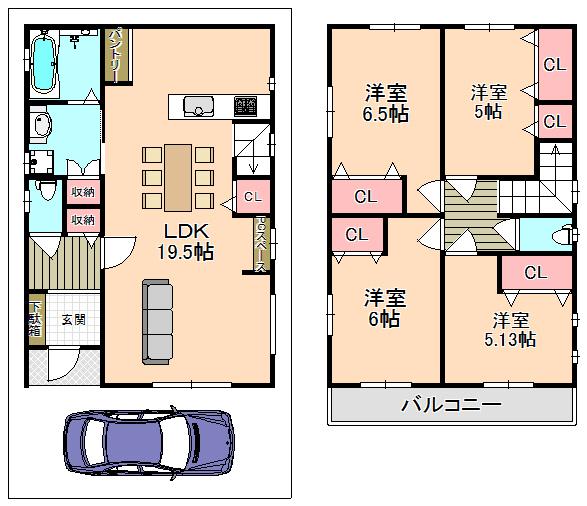 東大阪市新築一戸建《全4区画》日当たり良好★オール電化住宅!!