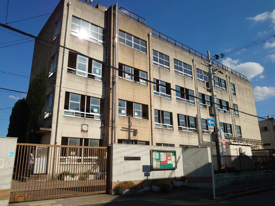 高井田中学校周辺