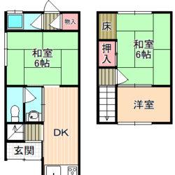 鶴見区中古テラスハウス